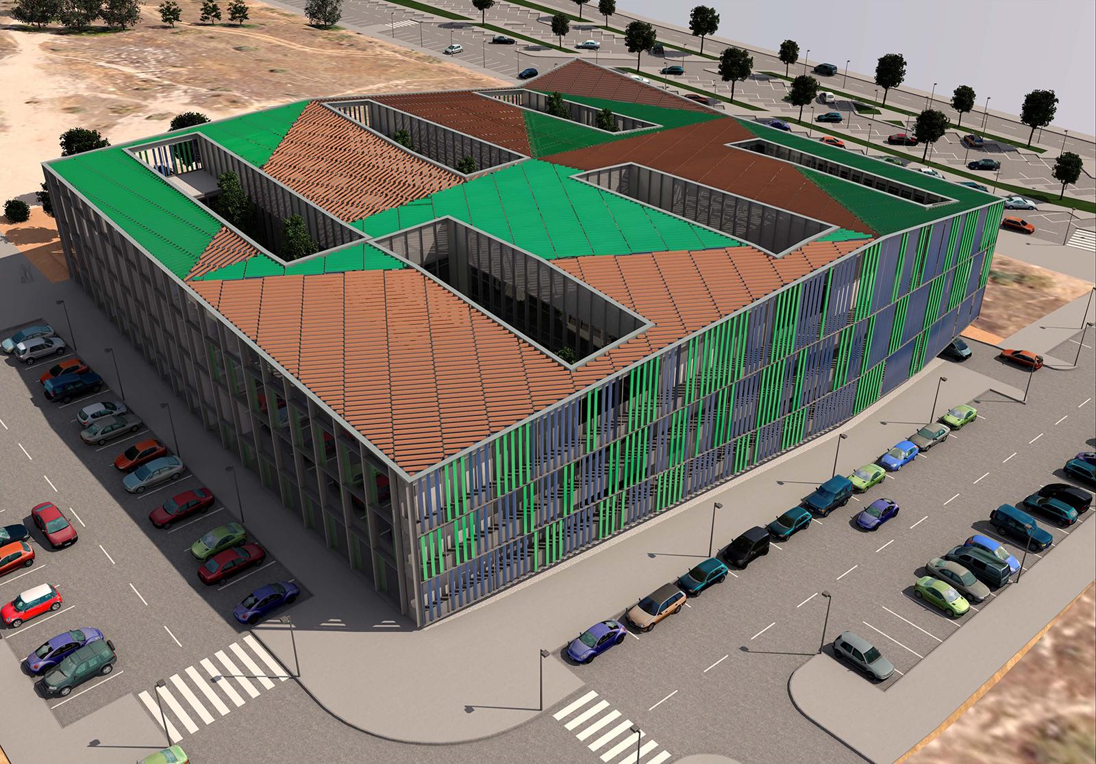 Nuevo edificio para la uned en el campus de las rozas for Biblioteca de la uned madrid